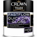 Crown Trade Fastflow QD Gloss White 1ltr