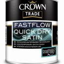 Crown Trade Fastflow QD Satin White 1ltr