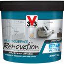 V33 Renovation Paint Pure Brilliant White 5ltr