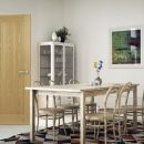 Deanta Ely Prefinished Oak Interior Door