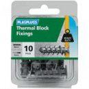 Plasplug Thermal Block Fixings (10)