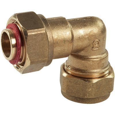 Compression Bent Tap Connector 15mm x 1/2in