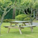 Hutton Rectangular Picnic Table