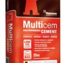 Castle Multicem Cement in Plastic 25kg