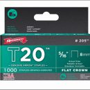 Arrow T20 Staples 8mm (1000)