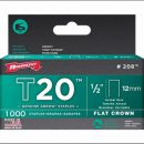 Arrow T20 Staples 12mm (1000)