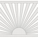 Core Dek Panel Sunburst 34 x 770 x 1130mm