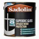 Sadolin Superdec Satin Opaque Wood Protection