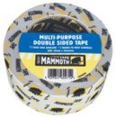 Everbuild Mammoth Multipurpose Double Sided Tape 50mm x 5mtr