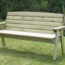 Hutton Dean Three Seater Bench