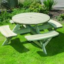 Hutton Circular Picnic Table