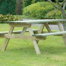 Hutton Rectangular Picnic Table