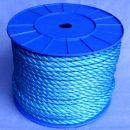 Rope Monofilament Polypropylene Blue 10mm per mtr