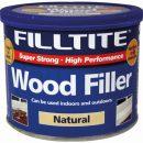 Filltite 2 Part Wood Filler Dark 500g