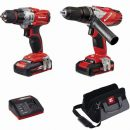 Einhell Power-X-Change 18v Combi & Drill Driver Twin Pack