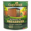 Cuprinol Ultimate Garden Wood Preserver Autumn Brown 4ltr