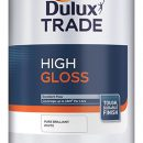 Dulux Trade High Gloss Brilliant White 5ltr