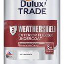 Dulux Trade Weathershield Undercoat B/White 1ltr
