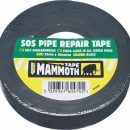 Everbuild Mammoth SOS Pipe Repair Tape Black 25mm x 10mtr