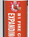 Soudal Trade B1 Fire & Acoustic Expanding Foam Hand Held 750ml