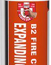Soudal Trade B2 Fire & Acoustic Expanding Foam Gun Grade 750ml