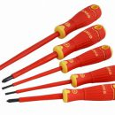 Bahco Bahcofit Insulated Screwdriver Set 5pc