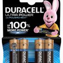 Duracell Ultra AA Batteries MX1500 (4)