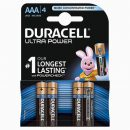 Duracell Ultra Batteries AAA (4)