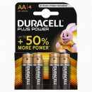 Duracell Plus AA Batteries MN1500 (4)