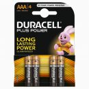 Duracell Plus AAA Batteries MN2400 (4)