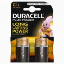 Duracell Plus C Batteries MN1400 (2)