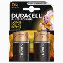 Duracell Plus D Batteries MN1300 (2)