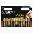 Duracell Plus AA Batteries (8)