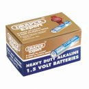 Draper Heavy Duty Alkaline Batteries AAA (24)
