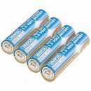 Draper Heavy Duty Alkaline Batteries AAA (4)