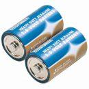 Draper Heavy Duty Alkaline Batteries D (2)