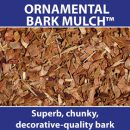 Ornamental Bark Mulch 60ltr