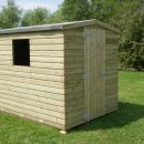 Hutton Apex Shiplap Shed 8 x 6ft