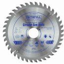Faithfull TCT Circular Saw Blade 180x30mm x 40T