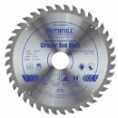 Faithfull TCT Circular Saw Blade 190x30mm x 40T