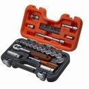 Bahco 34 piece 3/8in Square Drive Metric Socket Set