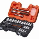 Bahco 24 piece 1/2in Square Drive Metric Socket Set