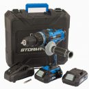 Draper Storm Force 20v Hammer Drill with 2 Batteries