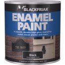 Blackfriars Enamel Paint Black 125ml