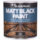Blackfriars Matt Black Paint 1ltr