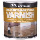 Blackfriars Polyurethane Floor Varnish Clear Gloss 1ltr