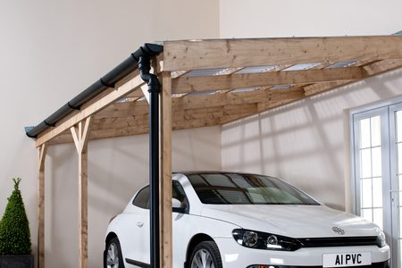 Car Port with Vistalux Sheets & Accs