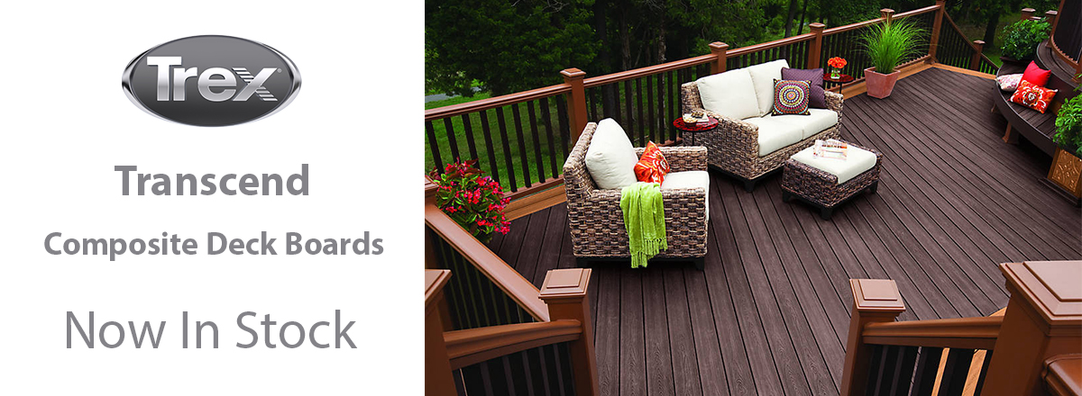 Now In Stock - Composite Decking